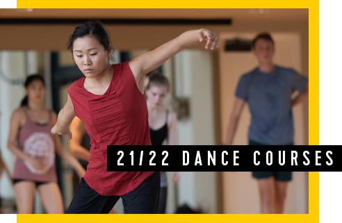 21/22 Dance Courses
